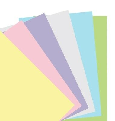 Filofax Notebook Pocket Pastel Plain Paper Refill - 122020