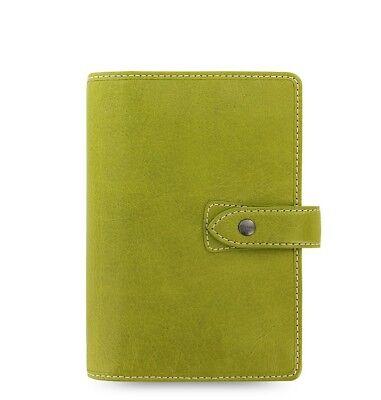 Filofax Personal Size Malden Organizer- Pear Color Leather 025811