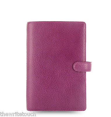 Filofax Personal Sized Finsbury Raspberry Organiser - 025305 - Brand New