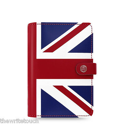 Filofax Original Organizer Union Jack - Personal Size - 022502 - 2018 Diary