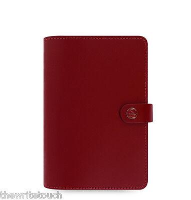 Filofax Original Organizer Personal Pillarbox Red Leather- 022380