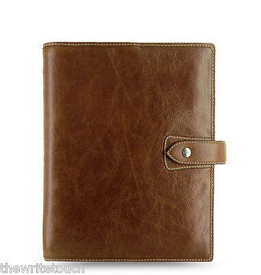 Filofax Malden Organizer A5 - Ochre - 025847 - Brand New - 100% Leather