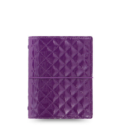 Filofax Domino Luxe Pocket Organizer Purple 2019- 027992