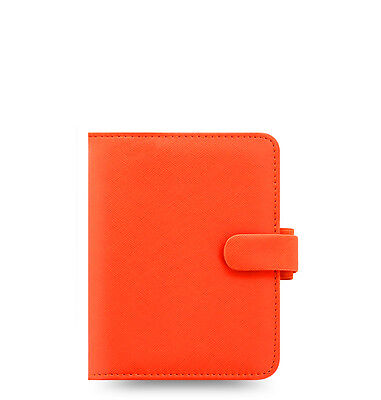 Filofax Saffiano Organizer Bright Orange - Pocket - 022593