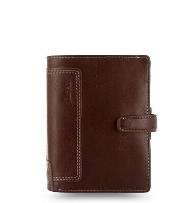 Filofax Pocket Size Holborn Organiser Planner Diary Leather Brown -025119