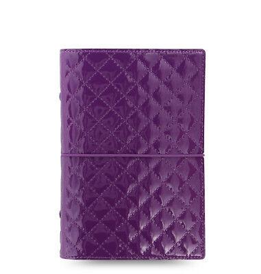 Filofax Domino Luxe Personal Organizer Purple 2019 - 027989