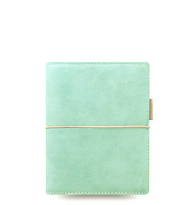 Filofax Domino Soft Organizer Duck Egg Blue - Pocket Size - New - 022583