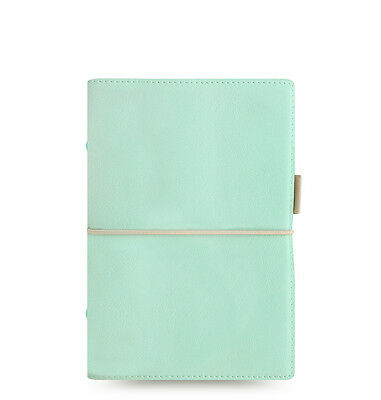 Filofax Domino Soft Organizer Duck Egg Blue - Personal Size - New - 022579