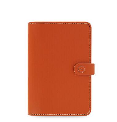 Filofax Original Organizer In Burnt Orange Leather - Personal New In Box