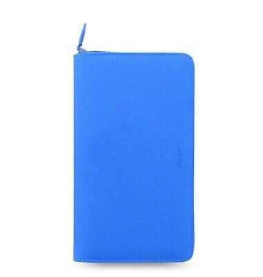 Filofax Saffiano Fluoro Personal Compact Zip Organizer Blue 2020 - 028753