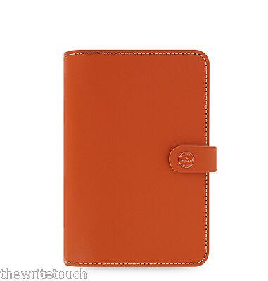 Filofax Original Leather Organizer Personal Burnt Orange - 022390