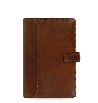 Filofax Lockwood Personal Leather Organizer Calendar Agenda Cognac 021696