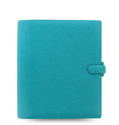 Filofax - A5 Finsbury Aqua- Thick Genuine Leather Organiser