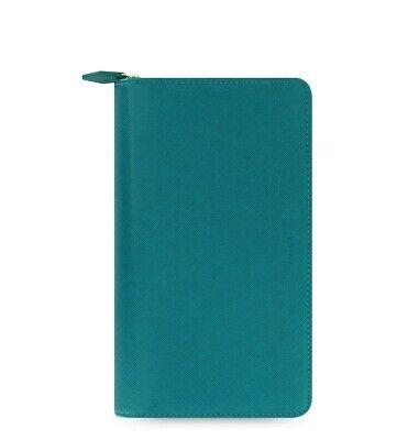 Filofax Saffiano Personal Compact Zip Organizer Aquamarine 2020 - 022536