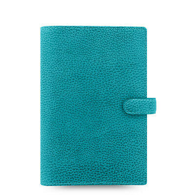 Filofax Personal Size Finsbury Leather Organizer Aqua Leather- 025444
