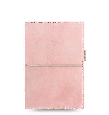Filofax Domino Soft Organizer Pale Pink- Personal Size - New - 022577