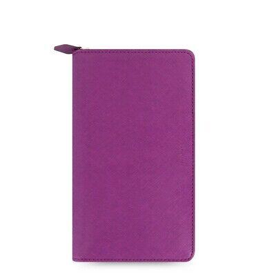 Filofax Saffiano Personal Compact Zip Organizer Raspberry 2021 - 022535