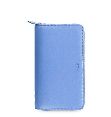 Filofax Saffiano Personal Compact Zip Organizer Vista Blue 2021 - 022592