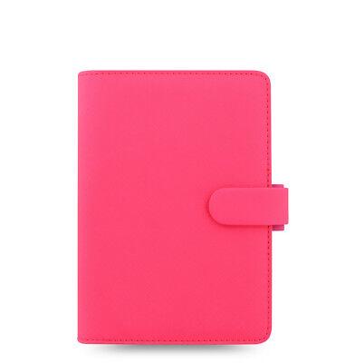 Filofax Saffiano Fluoro Personal Organizer Pink - 028750