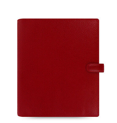 Filofax A5 Finsbury Leather Organizer Cherry Leather- 022498
