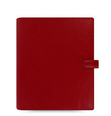 Filofax A5 Finsbury Leather Organizer Cherry Leather- 022498