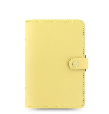 Filofax Original Leather Organizer Personal Size Lemon - 026070 New Item