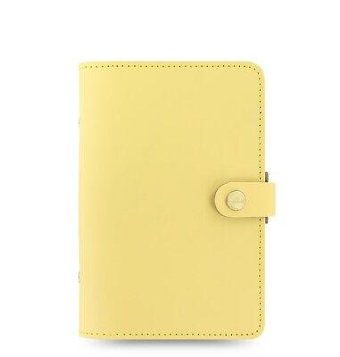 Filofax Original Leather Organizer Personal Size Lemon - 026070 New Item