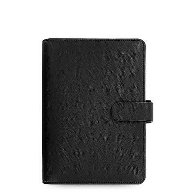Filofax Personal Size Saffiano Organizer Black - 022470