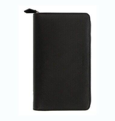 Filofax Saffiano Fluoro Personal Compact Zip Organizer Black 2021 - 028775