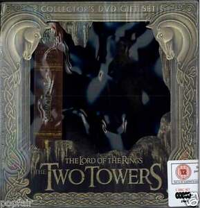 LORD OF THE RINGS TWO TOWERS DVD SEALED COLLECTOR'S EDITION BOX SET 2003 TOLKIEN
