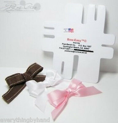 Bow Easy Mini Bow Maker Template Makes 7 Different Sizes of Bows
