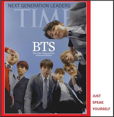BTS TIME ASIA MAGAZINE NEXT GENERATION LEADERS Bangtan Photo Cover Book only