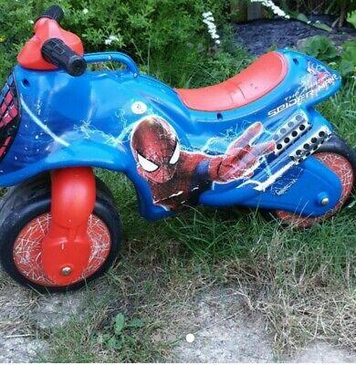 Spiderman Ride On Push Bike