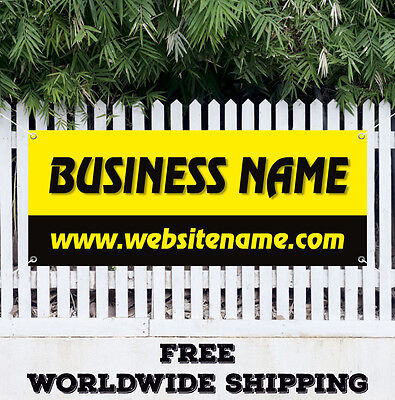 Banner Vinyl Business Name Custom Advertising Sign Flag Many Size