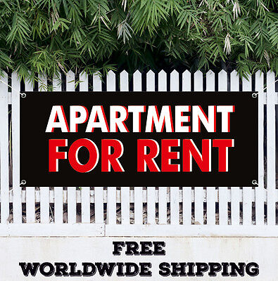 Apartment For Rent Advertising Vinyl Banner Flag Sign Lease Office Retail House
