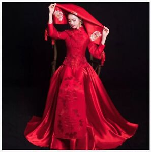 Brand New Stunning Traditional Chinese wedding dress