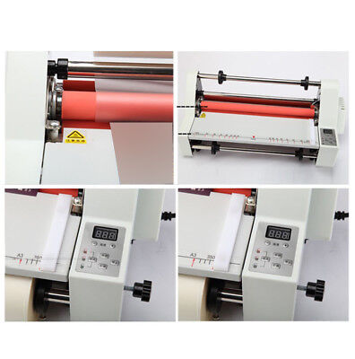 17 Hot Cold Roll Laminator Singledual Sided Laminating Machine Industry Tool