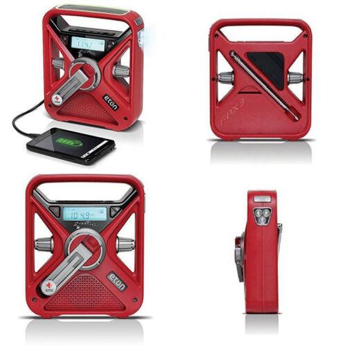 American Red Cross Eton FRX3 Hand Crank NOAA AM/FM Weather Alert Radio FAST SHIP