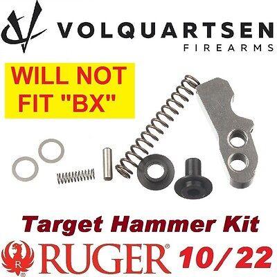 VOLQUARTSEN Target Hammer Kit for Ruger 10-22 LR & Charger bushing spring shims
