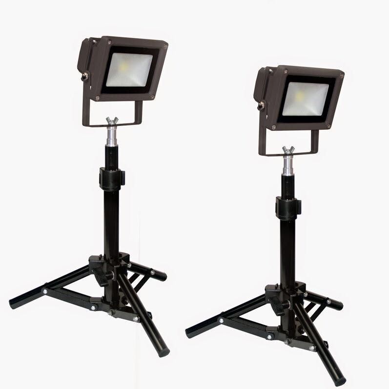 LED 100 Watt Table Top Photography Studio Light Kit Metal Body Steve Kaeser