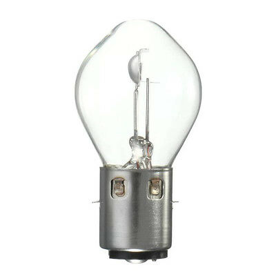 BA20D S2 395 12V 35//35W Motorcycle Headlight Lamp Light Bulb Clear Motorbike