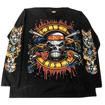 Vintage Guns N Roses Long Sleeve Shirt. Single Stitch.