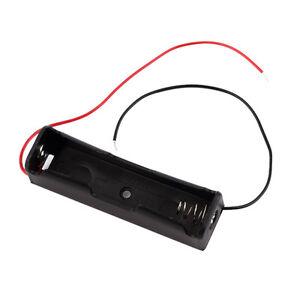 1PCS Plastic Battery Case Holder Storage Box for 18650 Batteries 3.7V BAlack ZY