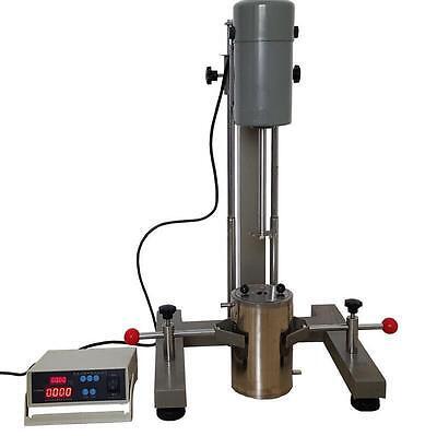 Digital Display High-speed Disperser Lab Homogenizer Mixer Fs-1100d 220v A
