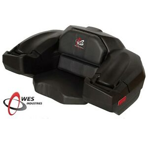 Wes Classic Rear Cargo  Box Seat for ATV