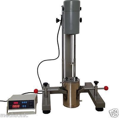 Digital Display High-speed Disperser Lab Homogenizer Mixer Fs-1100d 220v S