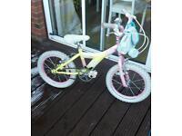 Girls bike age 4-7