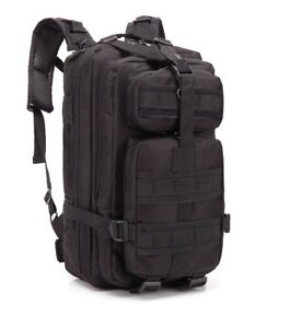 Brand New Large Black Backpack for Hiking/Travel/Military