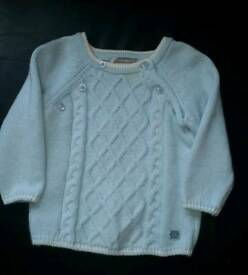 Boy's Tutto Piccolo Jumper 3 Month's