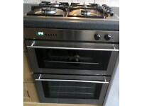Icidal cooker,hob and extractor fan